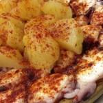 poulpe galicien (pulpo a la gallega) , l'un des meilleurs plats typiques de la cuisine espagnole