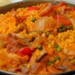 Paella Valencienne, l'un des plats typiques les plus connus de la gastronomie espagnole