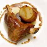 Agnelet d'Aragon avec des pommes de terre, recette espagnole typique