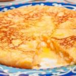 recette de tortilla espagnole traditionnelle et facile