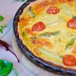 comment faire de la quiche lorraine traditionnelle, recette de cuisine facile