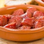 chorizo au cidre, recette de tapas espagnoles