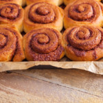 brioche maison à la cannelle (roulés à la cannelle ou cinnamon rolls)